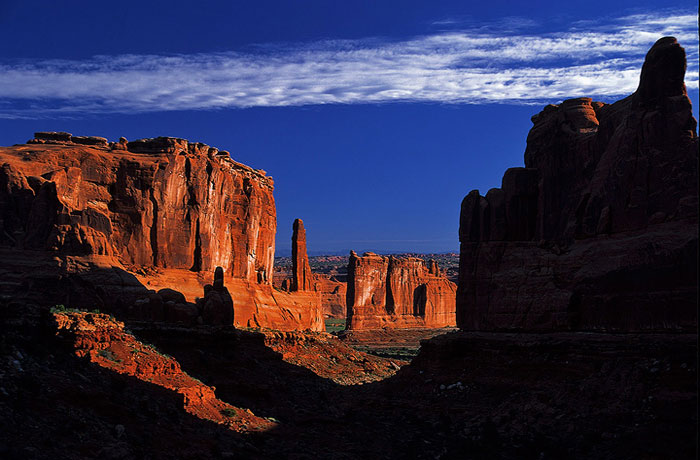 Sunrise at Arches
